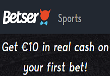 Betser Sports Bonus Offer