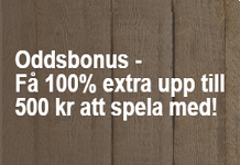 Casinostugan Odds Bonus