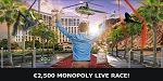 Mr Green Monopoly live race
